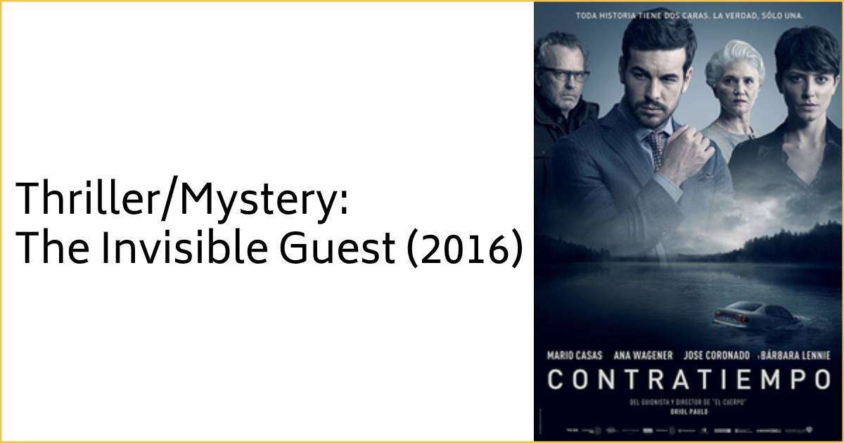 The Invisible Guest Movie
